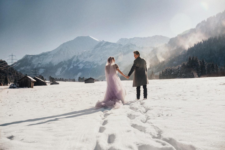 Alpen Love: церемония для двоих в Альпах