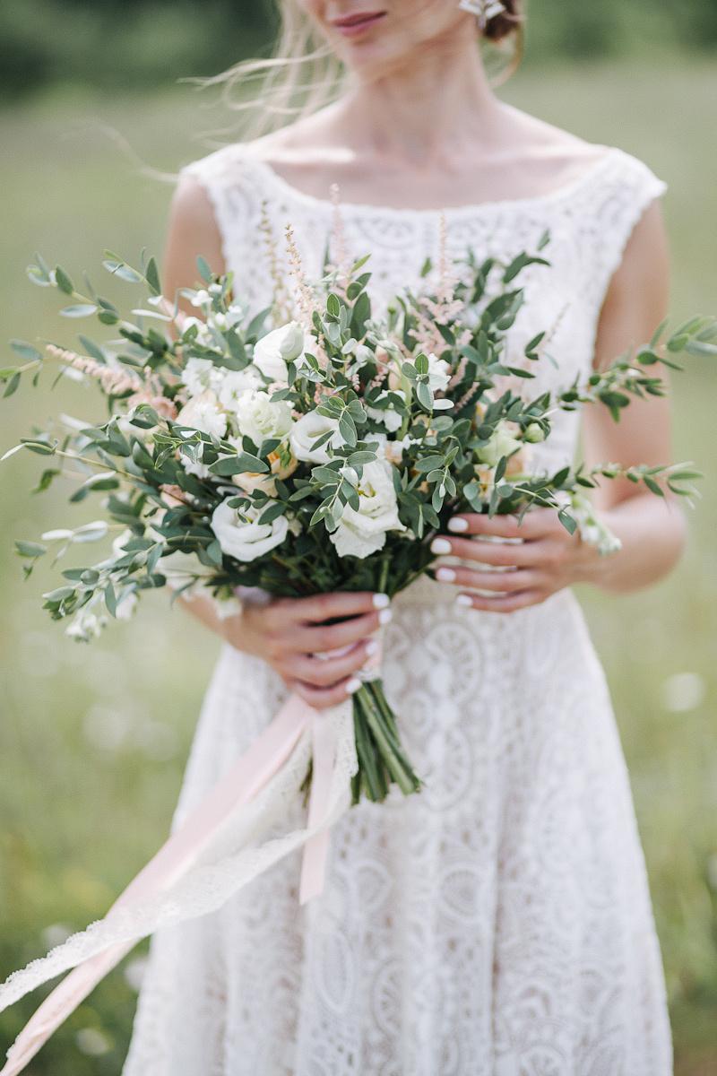 Эко-свадьба с романтичным настроением