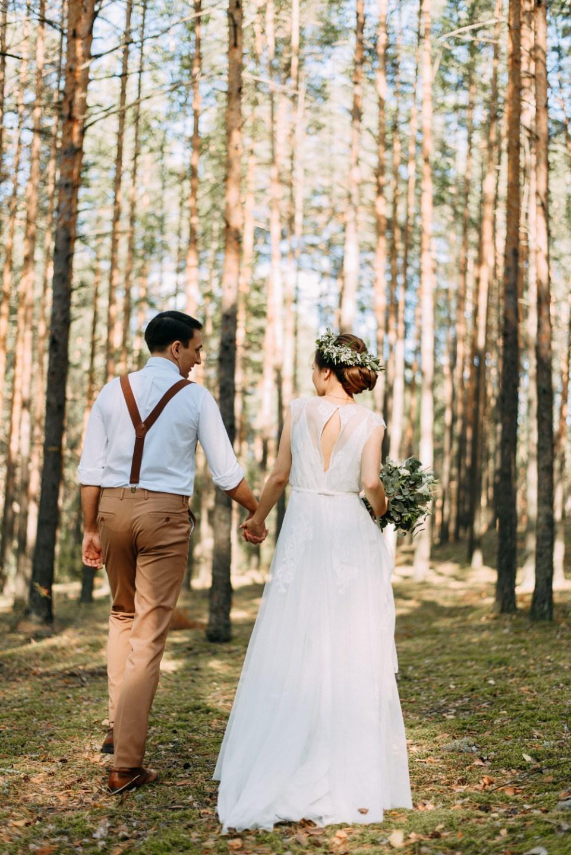 Без городской суеты: рустик-свадьба в усадьбе