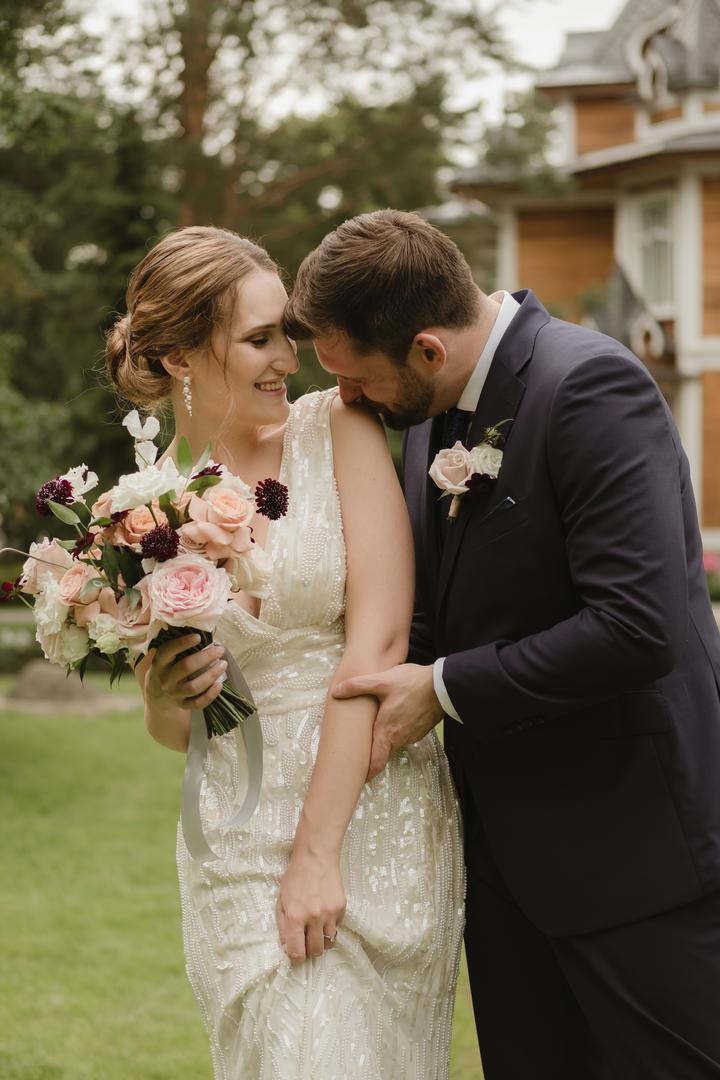 Русско-английская свадьба в загородном клубе